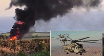 Helikopter Kazası Dehşet Saçtı | 25 Kişi Hayatını Kaybetti