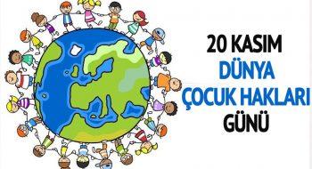 Çocukların da Hakları Olmalı | 20 Kasım Dünya Çocuk Hakları Günü