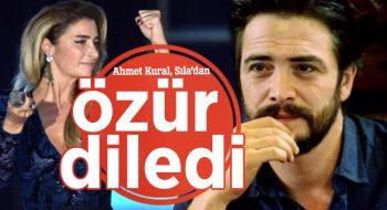 Ahmet Kural, darp ettiği iddia Sıla'dan özür diledi