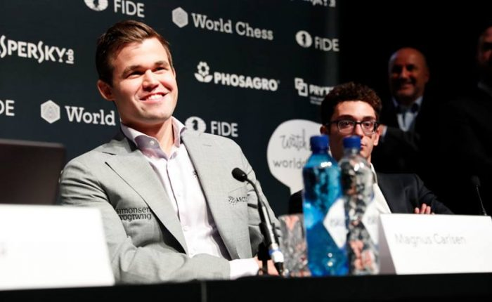 Dünya Satranç Şampiyonu Magnus Carlsen Oldu