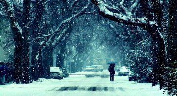 Kış Geldi Yollar Buzlu