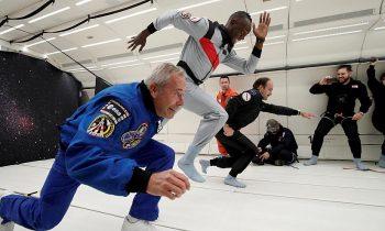 Usain Bolt Yerçekimsiz Ortamda Koşmayı Denedi