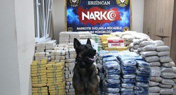 Erzincan da Durdurulan Tır da 1 Ton 271 Kilo Eroin Çıktı