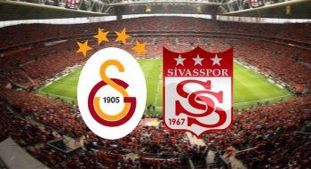 Galatasaray Sivasspor maçı saat kaçta? GS Sivas maçı ne zaman