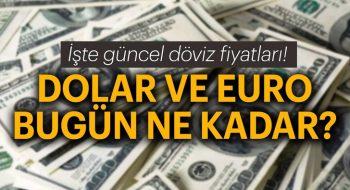 13 Temmuz Cuma Dolar ve Euro alış ve satış fiyatları