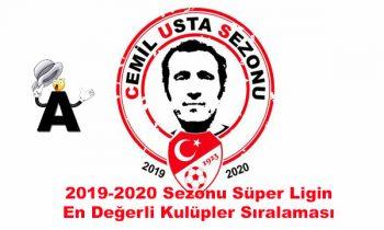Süper Ligin En Değerli Kulüpleri 2019-2020 Sezonu
