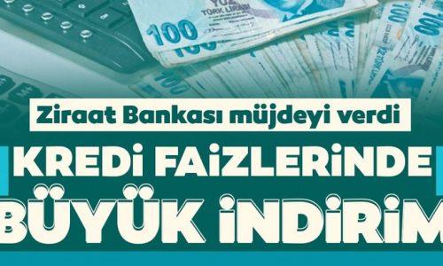 Ziraat Bankası konut kredisinde faizi indirdi