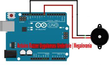 Arduino Buzzer Uygulaması Undertale   Megalovania