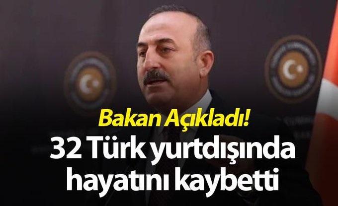 Korona'dan Yurt Dışında 32 Türk Yaşamını Yitirdi