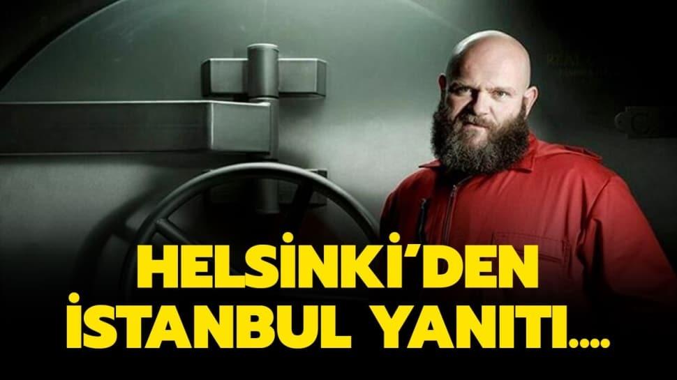 Helsinki İstanbul Hayranlığını Dile Getirdi