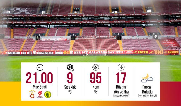 Galatasaray Darıca Gençlerbirliği Maçı Saat 21:00′ da Canlı İzle
