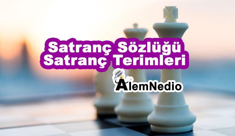 Satranç Sözlüğü | Satranç Terimleri