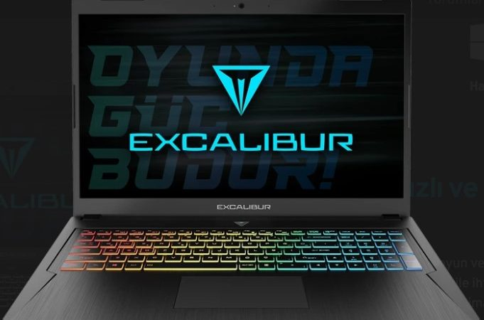Orta segmentin fiyat-performans laptopu: Excalibur G780